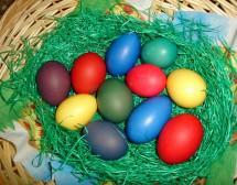 Възкресение Христово. С шарени яйца, агнешко и козунаци