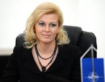 Жена стана президент на Хърватия