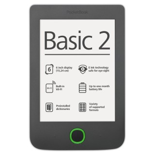 PocketBook Basic 2_grey_en_front