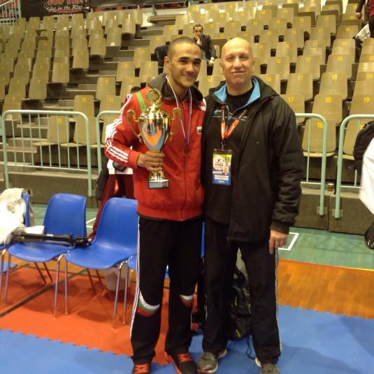 S treniora Karsimir Gerginov