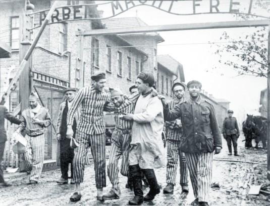 Освобождението на концлагеристите
