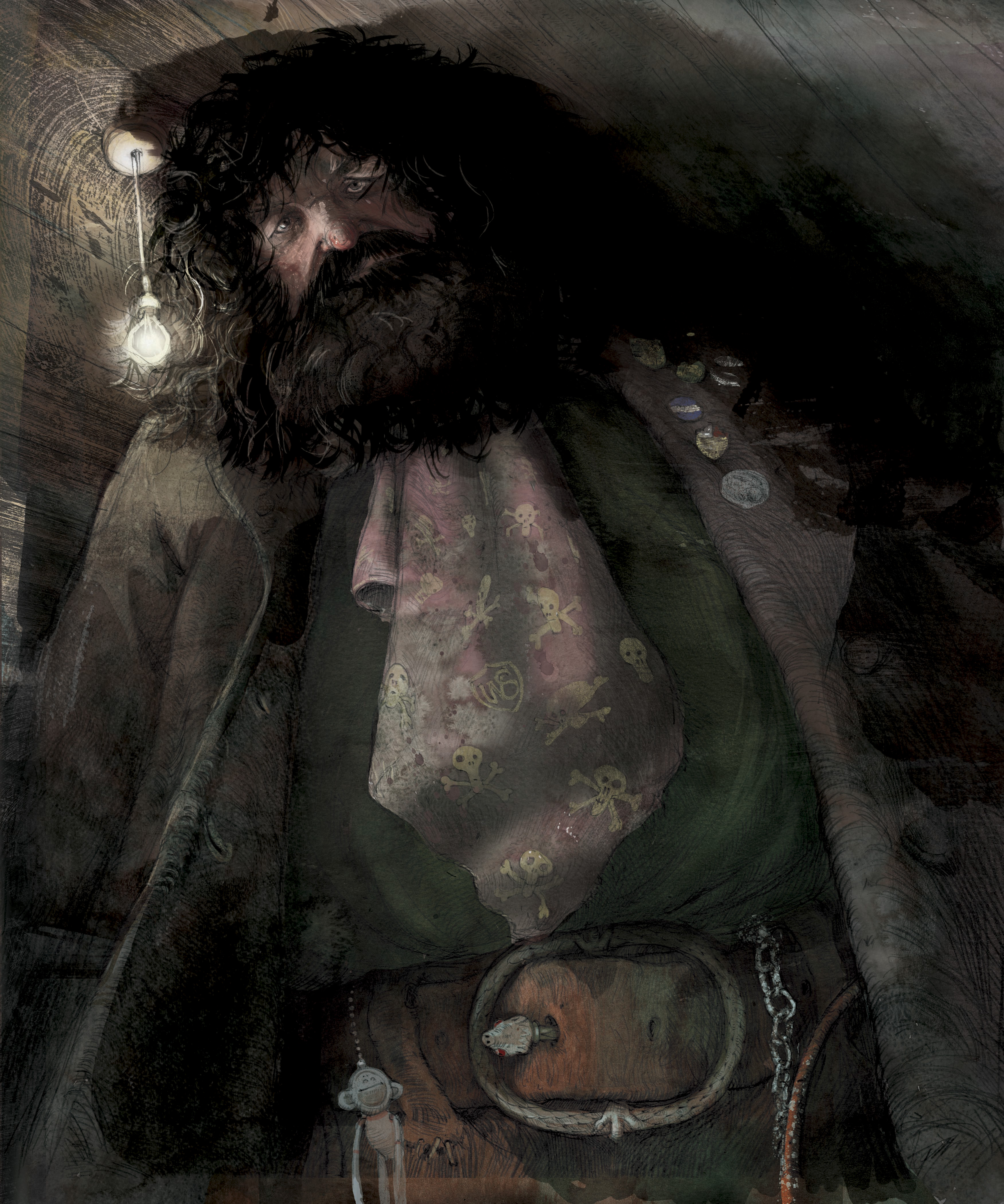 Hagrid - Jim Kay RGB