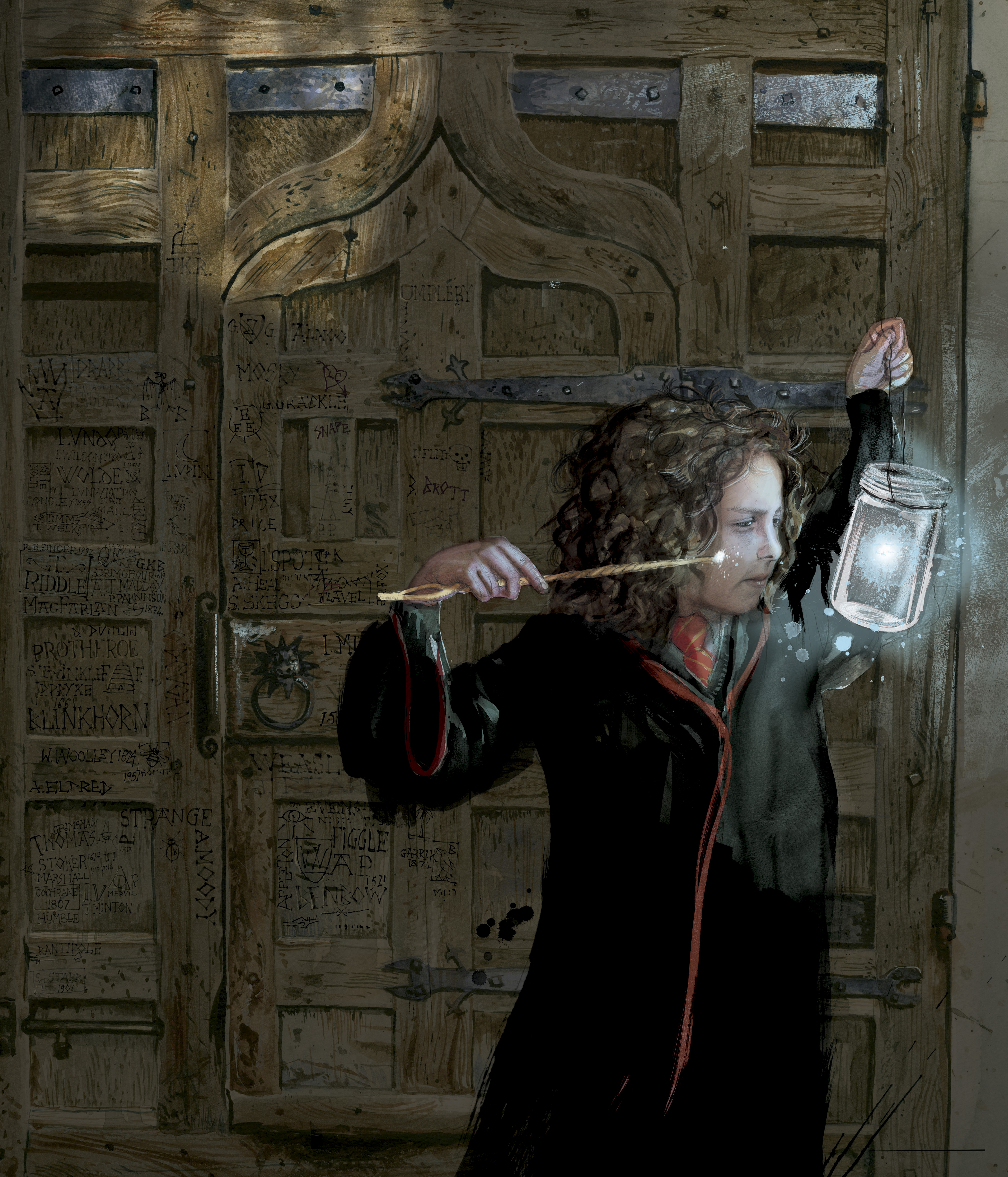 Hermione - Jim Kay RGB