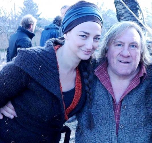 1.Gerard Depardieu i Dessy Tenekedjieva