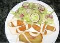 Пролетни ролца със зеленчуци. От Мария Беженар