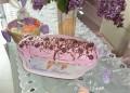 Великденско руло с виолетов крем и шоколад. От Русиана Михайлова