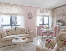 Винтидж интериорен дизайн с романтични елементи