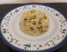 Ориз с царевица и грах. От Енгюл Асанова
