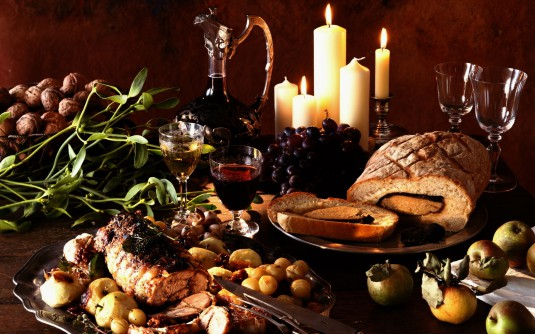 wine_dinner_candles_meat_hd-wallpaper-43485