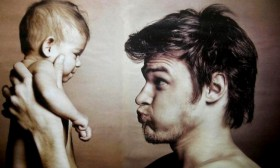 20 умилителни снимки на татковци