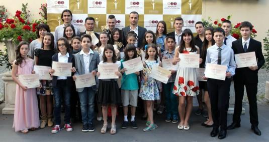 Най-добрите в изкуствата, науките и спорта от Клуб 2014 на Успелите деца на България