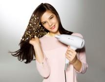 Как да изсушим косата бързо и лесно у дома