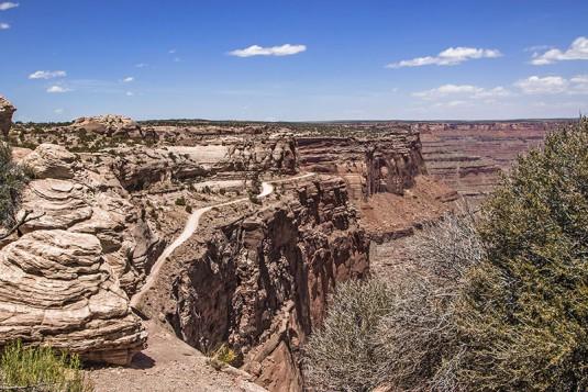 Юта - Canyon Land - White Rim Road