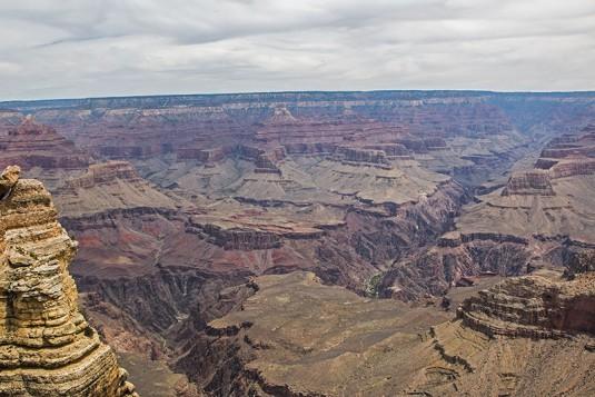 Малка част от Grand Canyon