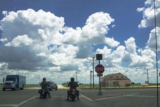 Познато кръстовище с четири Стоп-а в Илиноис