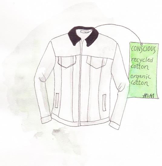 Close the loop - mens jacket