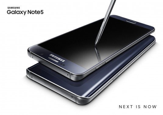 Galaxy Note5 Double_Black _Black_2P