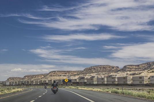 Ню Мексико и безкайния товарен влак