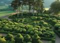 Наклонените градини на замъка Маркесак