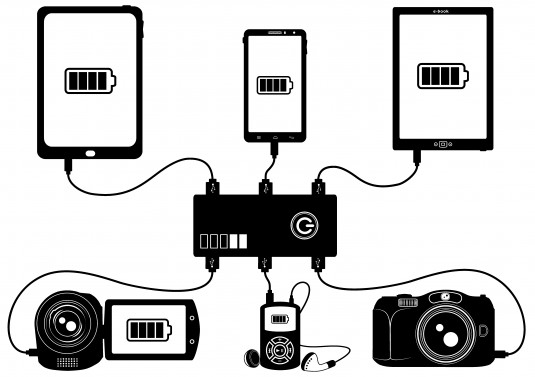 power bank bw