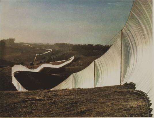 Бягаща ограда 1972-76 г.