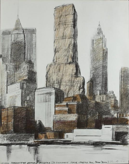 Долен Манхатън опакован 1973