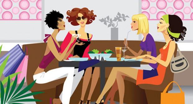 Обядът с приятелки – лек за добро храносмилане