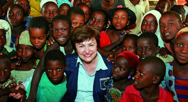 Кристалина Георгиева:  Половината световно богатство е в ръцете на 1%