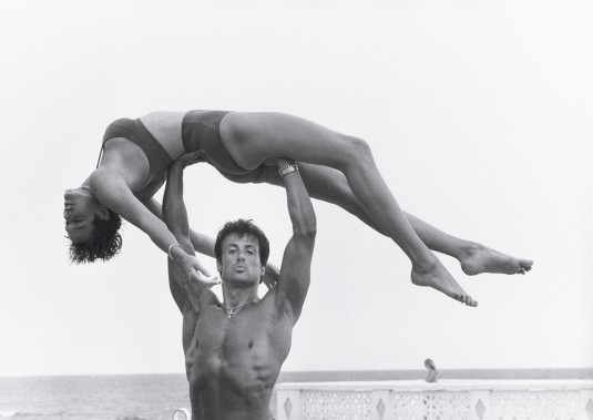 18. Sylvester Stallone and Brigitte Nielsen, Long Island, 1987