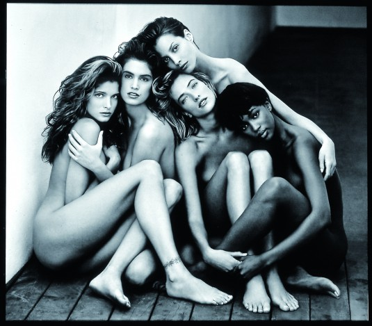 2. Stephanie, Cindy, Christy, Tatjana, Naomi, Hollywood, 1989
