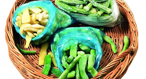 Как да замразим плодове и зеленчуци