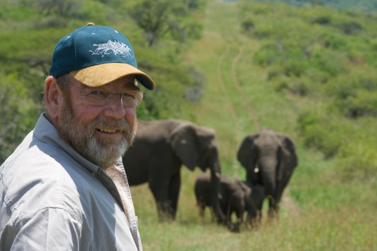"""Elephant Whisperer"" Lawrence Anthony"