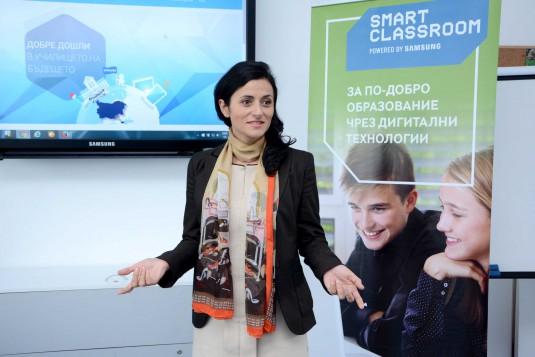 Kristina Shtereva_Samsung Bulgaria