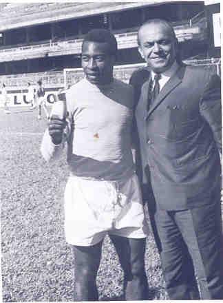 With Pele
