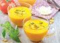 Крем супа от домати с босилек