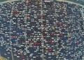 Как изглежда час пик в различни градове (снимки)