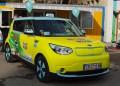 Тръгна първото електрическо такси в София