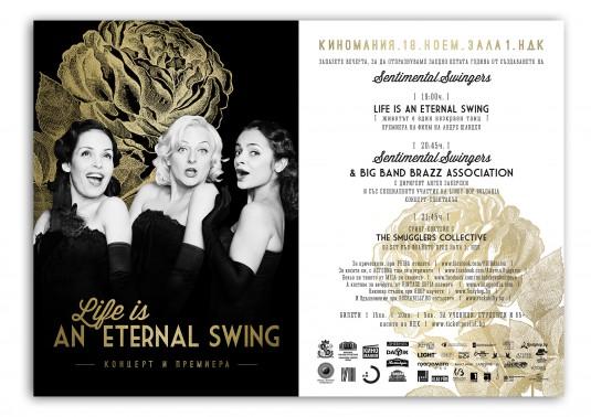 Life is An Eternal Swing_Flyer