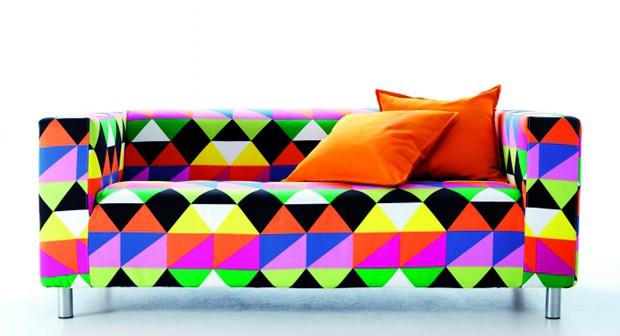 Повече цвят за дивана