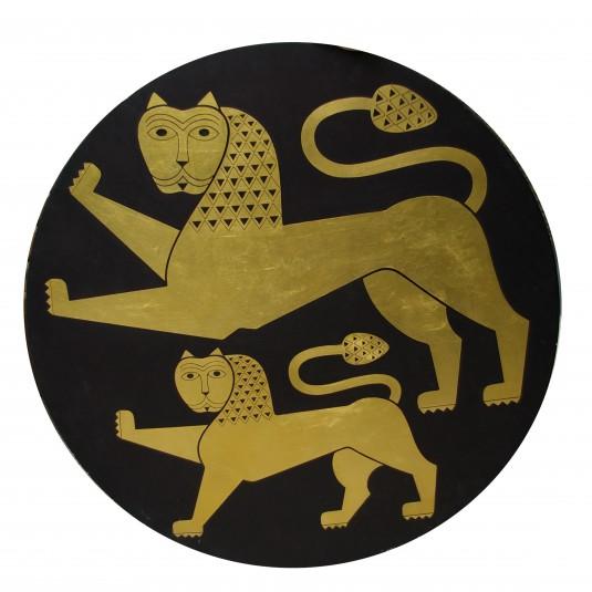 Старозагорско- то лъвче - злато върху дърво