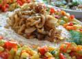 Кускус с хрупкави зеленчуци