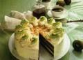 Торта с киви