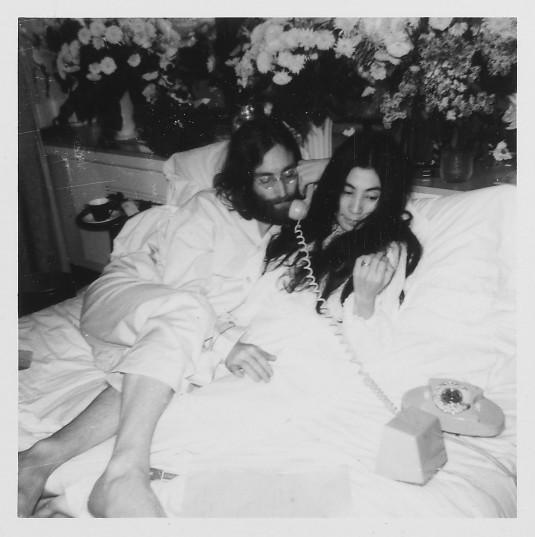 John Lennon's Lyrics to legendary peace-anthem, Give Peace a Chance