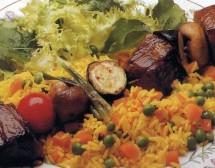 Телешки кебап с ориз