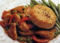 Люто пиле с кюфтенца