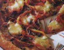 Пица с червен лук
