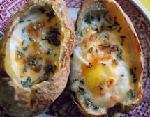 4 блюда с яйца