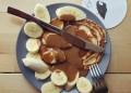 Американски палачинки с лешников тахан и банан