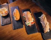 Гурме сандвичи на Андре Токев в OMV