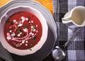 Крем супа от цвекло и портокал